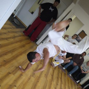 Capoeira demo at Randori Dojo